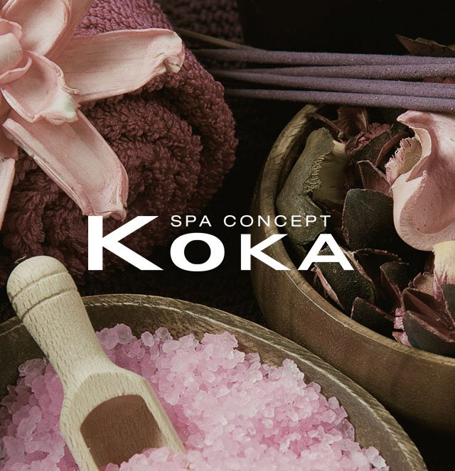 KOKA  Spa Concept // WEB LAYOUT PROJECT